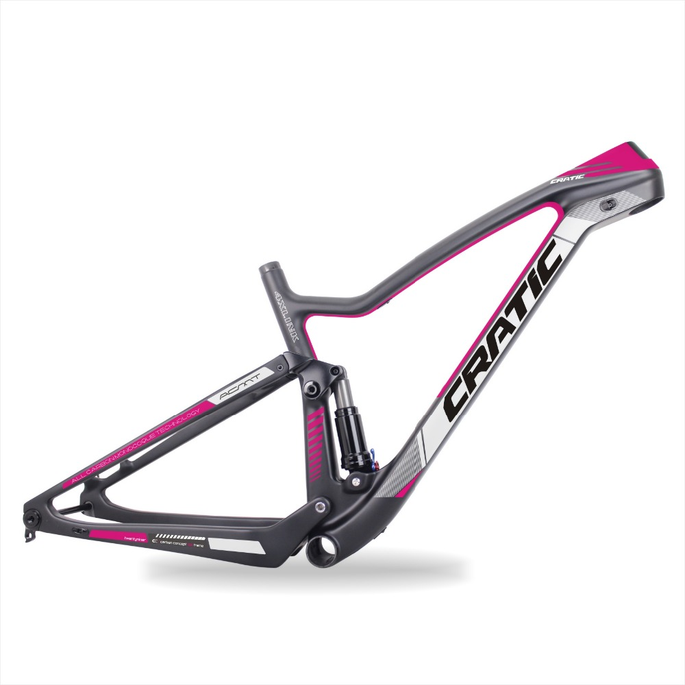Wholesale Toray T700 Carbon Fiber Aero Bicycle Frame with Stickers 29er for MTB and Cyclocross Bikes