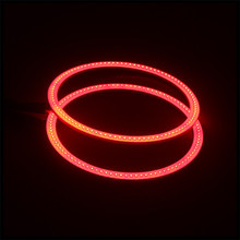 factory wholesale price 80mm 24smd 3535 rgb changing color halo ring full circle led angel eyes