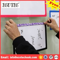 White board interactive non-magnetic board writing board