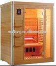 shortwave heater +Mica carbon heater combination far infrared sauna room with CE certificate