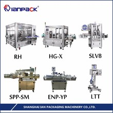 IANPACK Customizable servo motor economy automatic labeling machine for round bottles