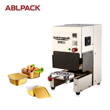 ABL Packing Aluminium Foil Heat Sealing Hand Operated Machine Aluminum Foil Food Container Making Machine