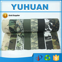 100% Cotton Wholesale Outdoor Sports Camo Fabric Tape From Kunshan