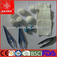 Disposable Medical Sterile surgical instrument Kits for hoapital