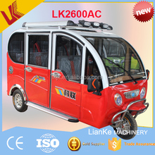 2017 hot product solar electric tricycle three wheeler electric tricycle for passenger