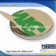 Rubber Coated Rare Earth Neodymium Speaker Magnets / permanent NdFeb magnets