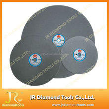 Electroplated diamond sharpening flat lap diamond discs