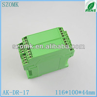 China electronic industrial plc din rail mounting enclosures