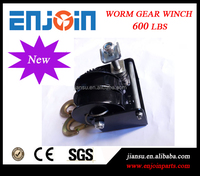 CE SGS approved manufacturing 600lbs double drum worm gear bumper winch