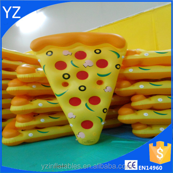 Swimming Pool Inflatable Pizza Slice Float Raft Fun Water Toy