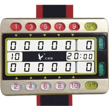 Record scoring for both side professional gateball timer for sale