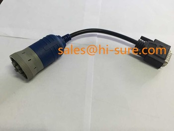 J1708 DEUTSCH 6P to DB9P Male Cable