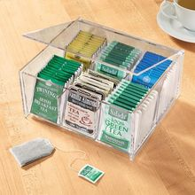 Alibaba china 4 tier contemporary acrylic tea bag box organizer display stand
