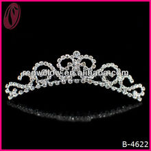 New Design Ceramic Flowers Wedding Tiaras