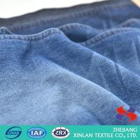 Best seller good quality cotton stripe denim fabric for wholesale
