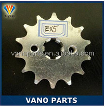 Motorcycle EX5 428-15T chain sprocket