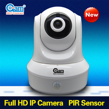 pir sensor 360 degree security camera,cctv camera security with 64GB SD Card slot