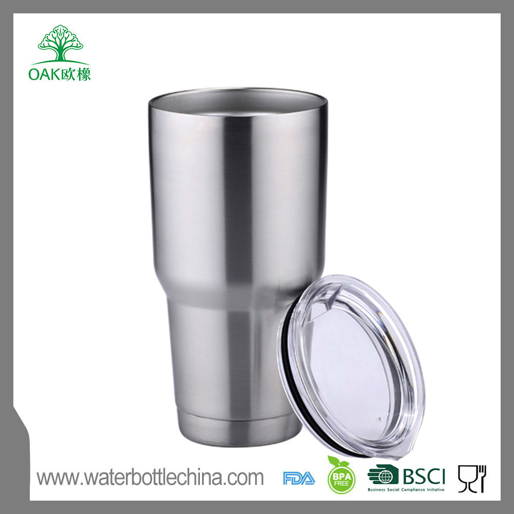 30 oz metal straw stainless steel vacuum insulated tumbler