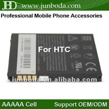 High capacity 1230mah BD26100 mobile phone for INSPIRE 4G T8788 Desire HD G10 A9191 A9192 for HTC 7 Surround(T8788)