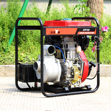 3 Inch CE Diesel Mini Water Pump, 3Inch Electric Water Pump With 12HP Engine, 3Inch High Head Diesel Pump Recoil Starting