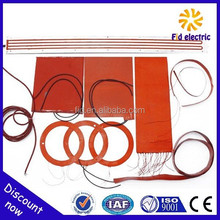 diesel engine water jacket heater, silicone heat pad flexible