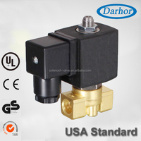 DHG31 compact design 3 way solenoid valve coffee machine 12V DC