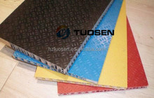 Fiberglass pp honeycomb panel ,FRP honeycomb for scaffolding ,scaffold frp honeycomb panel