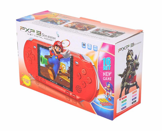 New Arrival Game Player PXP3(16Bit) 2.5 Inch LCD Screen Handheld Video Game Player Console 5 Colors Mini Portable Game