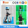 Omni walking vr 3 dof 3 seat 9d cinema movie theater 9d theatre simulator VR treadmill