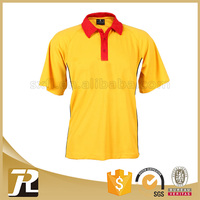 New arrival Solid high quality polo polyester shirts