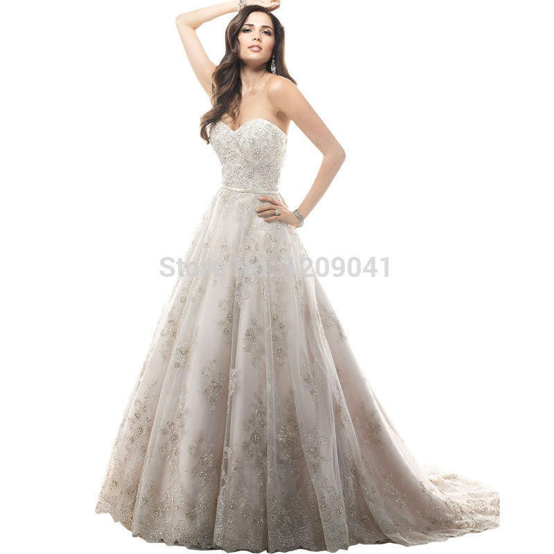real photo lace wedding dress 2015 hot sale sweetangel train wedding dresses vestido de noiva romantic fashionable plus size