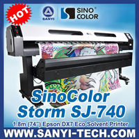 Hot Sell Inkjet Printer Price with DX7 head -- SinoColor SJ740