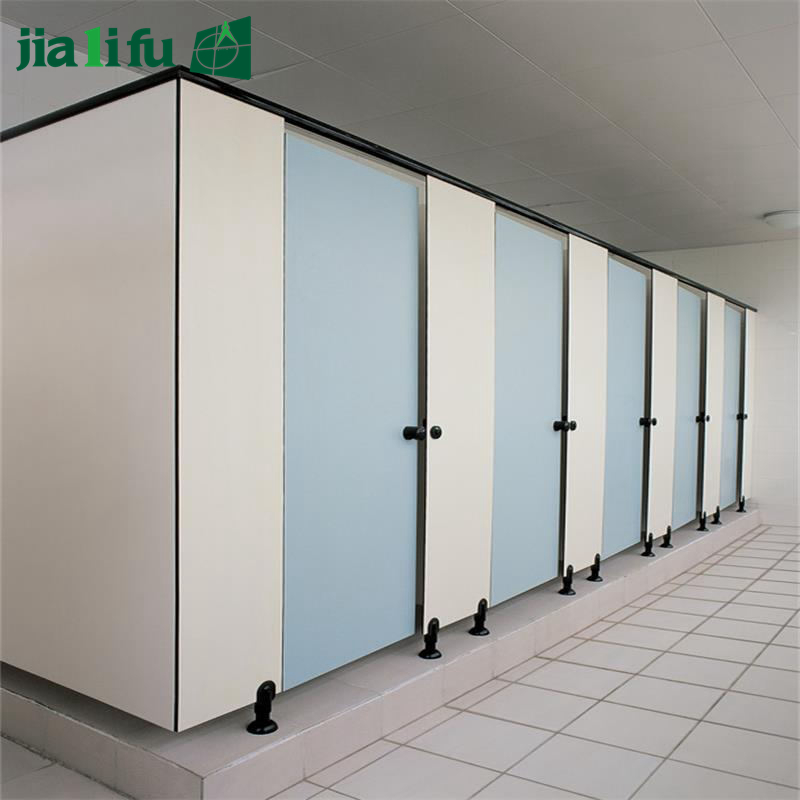 JIALIFU interior phenoilc wood compact board WC toilet partition