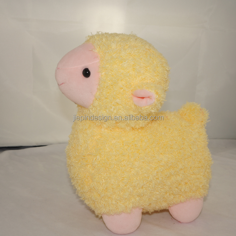 customized super soft comfortable cute sheep plush toys