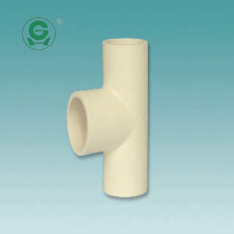 Astm d 2846 2 inch cpvc tee for cold and hot water buy for Cpvc hot water