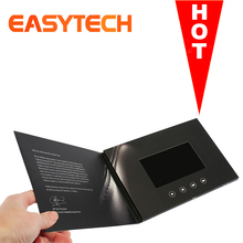 Et-digital Advertising media player 4.3 inch lcd screen video brochure 10inch