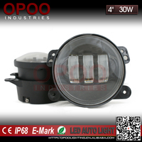 Wholesale jeep wrangle jk accessories 4'' 30w motorcycle led fog lights