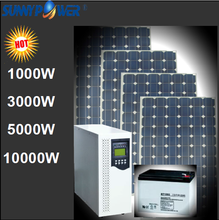 1kw,3kw,5kw,10kw,20kw,50kw,100kw off grid High frequency solar home system