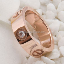 factory stainless steel ring friendship ring design