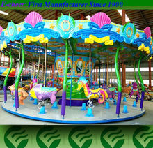 Amusement machine children's game paly ground animal carousel ride