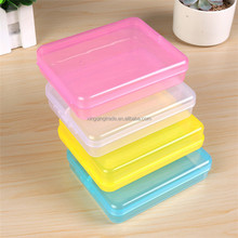 Candy colors plastic storage box mini pill box
