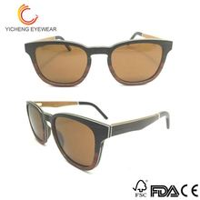 OEM&ODM design fashion handmade eyewear promotional wood sunglasses