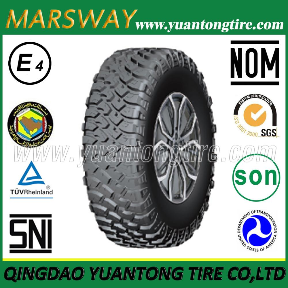 Mud Tires/Off-Road Tyres for SUV MARSWAY Brand