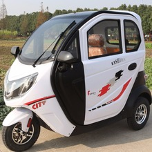 passenger tricycle with covered electric tricycle electrical tricycles with 2 doors