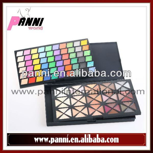 New Pro 120 Color Warm Matte Shimmer Mix Eyeshadow Make Up Palette