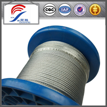 Galvanized Steel Wire Rope Non Rotation Rope 7*19