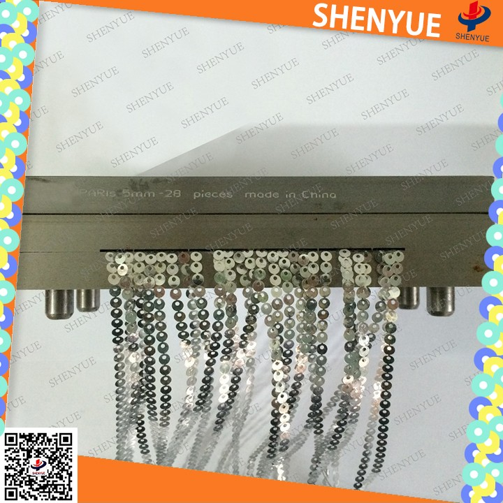 transparent pet film mermaid reversible sequin fabric China best quality decorative diamond sequins