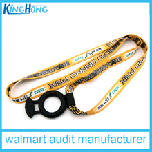 walmart audit factory cheapest high quality cup holder lanyard
