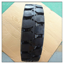 Non-marking pneumatic resilient solid rubber tire 6.00-9/4.00