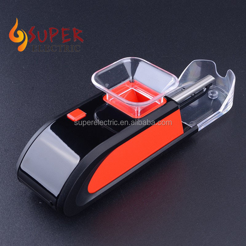 Popular mini automatic electric cigarette rolling machine with cheap price for slim 6.5mm cigarettes on sale
